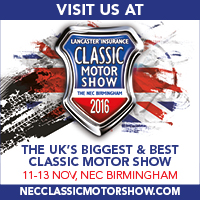 See us at Lancaster Insurance Classic Motor Show
